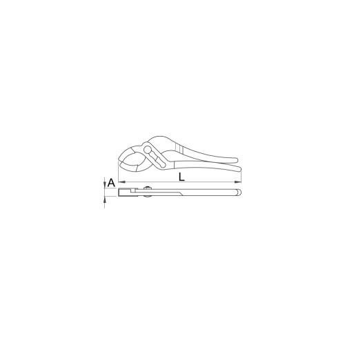 612869 Cleste instalatii pentru sifon de scurgere - UNIOR 487/2P