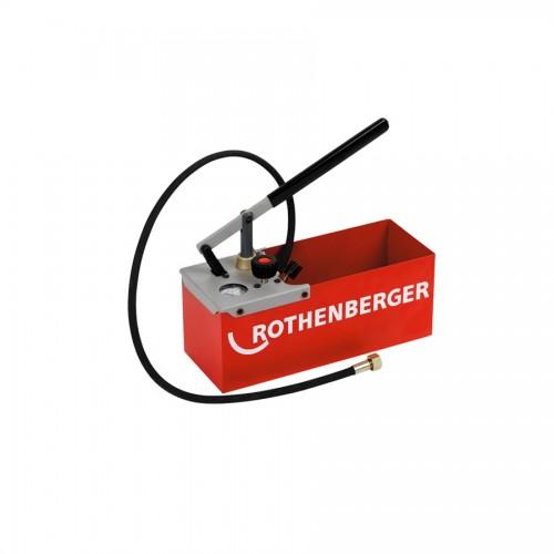 TP 25 Pompa de testare/umplere presiune manuala pt instalatii Rothenberger