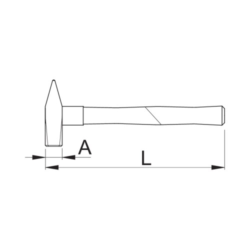 812A Ciocan lacatuserie LSI super,280mm Unior
