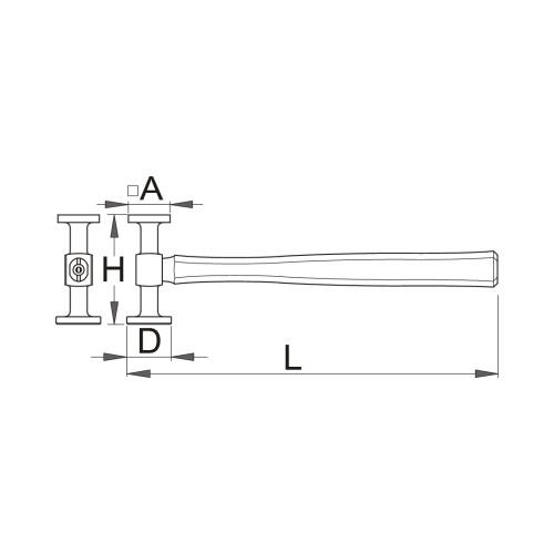 1932 Ciocan tinichigerie standard,Unior