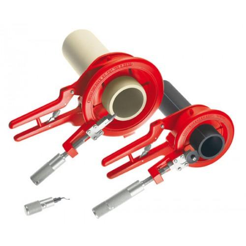 55035 ROCUT® 110 Dispozitiv/scula taiat si samfrenat  țevi plastic, instalatii,cu fălci 50/75 mm,Rothenberger