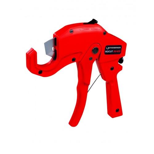 55015 ROCUT® PS 26/PS 42S Foarfeca/scula taiat tevi plastic, instalatii Ø 6 - 42 mm,Rothenberger