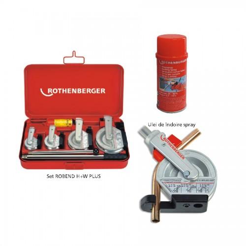Dispozitiv/scula indoit tevi ROBEND® H+W Plus, 12-22 mm, Rothenberger, 24500