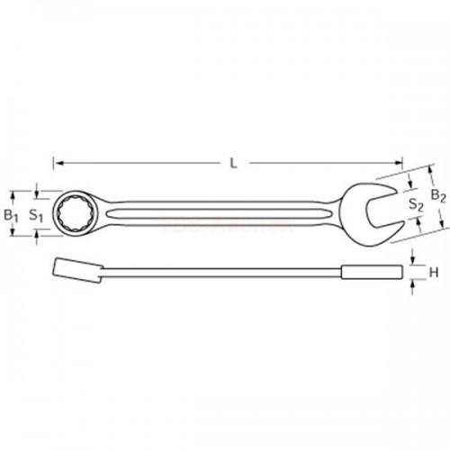 Proxxon 23905 - Cheie combinata fixa 5,5mm