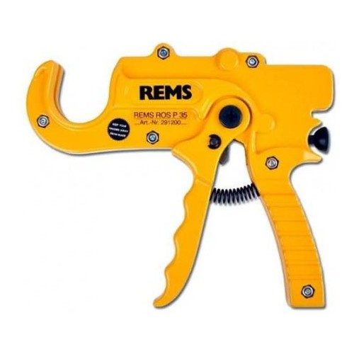 291200 REMS ROS P 35, foarfeca manual pentru tevi plastic, capacitate maxima 35 mm