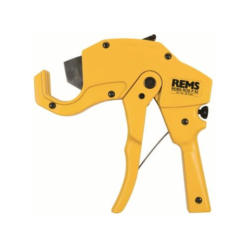 291250 REMS ROS P 42, foarfeca manuala pentru tevi plastic, capacitate maxima 42 mm