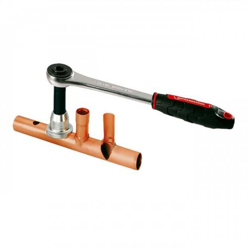 Dispozitiv de expandat si confectionat T-uri tip COMBI KIT, 12-15-18-22mm, Rothenberger 11180X