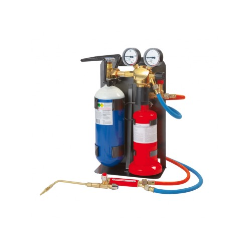 Echipament portabil brazare, oxi-gaz Allgas 2000 PS 0,5/2, Rothenberger