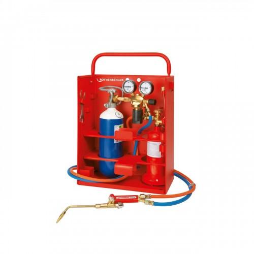 Set de lipit Allgas 2000 PS 0,5/2 COMPACT, Rothenberger