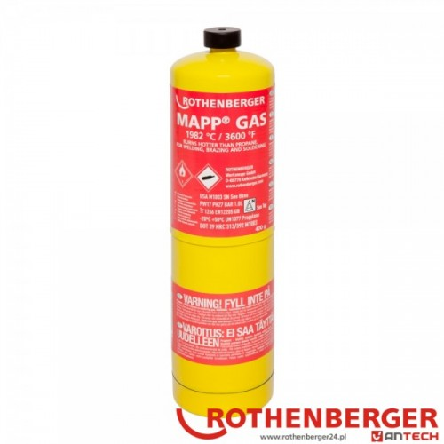 Butelie Mapp gas Filet 1'' US, Rothenberger