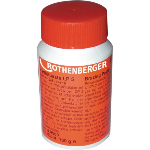 Pasta pentru lipiri tari si brazari tip LP5 Rothenberger
