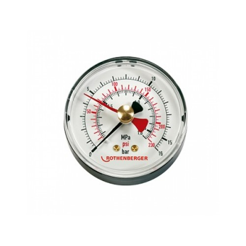 Manometru pompa testare presiune RP 50, Rothenberger, 61315