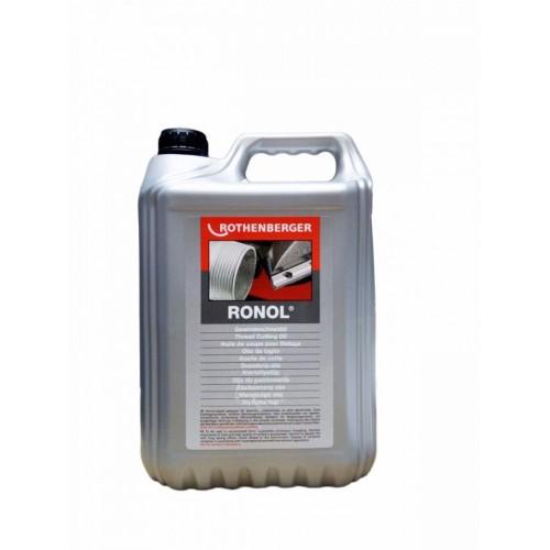 Ulei de filetat spray RONOL mineral - bidon 5l, Rothenberger, 65010