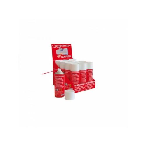 Spray antiseptic si odorizant SANIFRESH - 12buc, Rothenberger, 85800