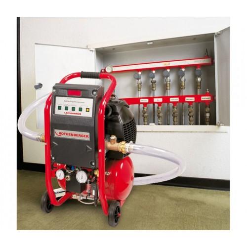 Compresor pentru spalarea/curatarea sistemelor de incalzire, ROPLUS®, Rothenberger, 1000000145