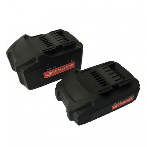 Baterie reincarcabila BP18/2 18 Volt 2.4 Ah, Rothenberger, 1000001652