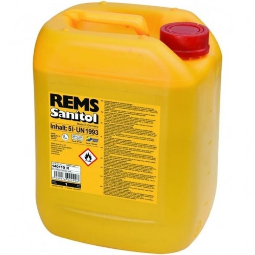 Ulei de filetat sintetic REMS Sanitol - bidon 5l, 140110