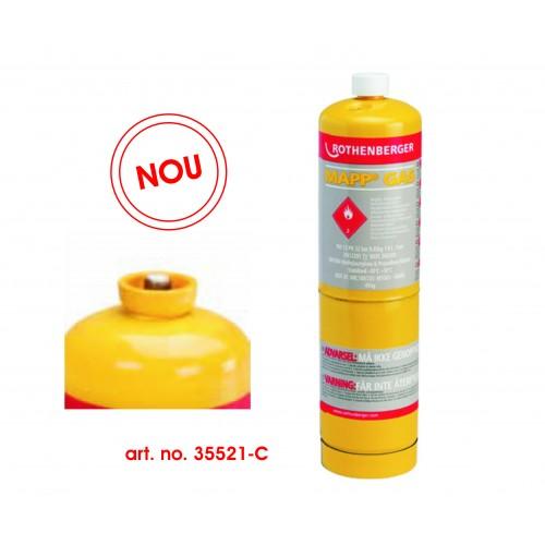 Butelie Mapp Gas, filet 7/16'' Rothenberger,