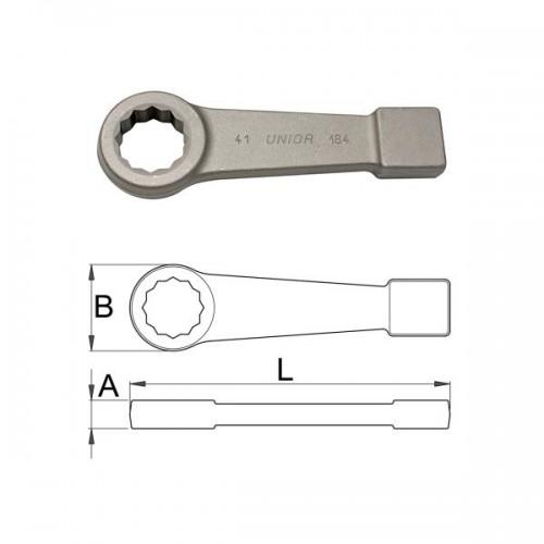 Cheie inelara de soc, Unior 620494